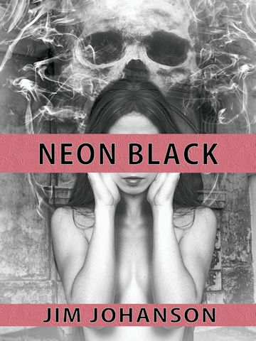 Neon Black short story cover
